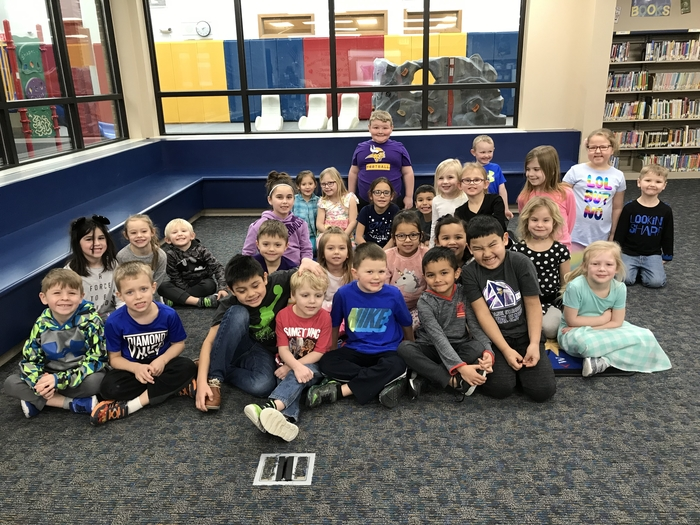 KS-1st Grade Perfect Attendance for Quarter 2