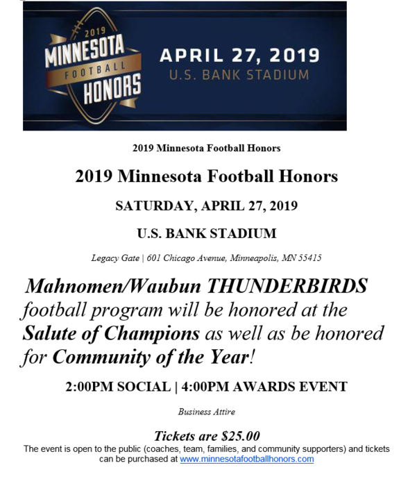 MN Football awards