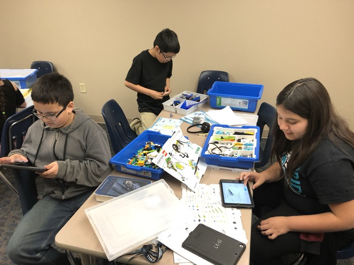 Mr. Peterson's 4th graders have started their Engineering Unit using LEGOs.