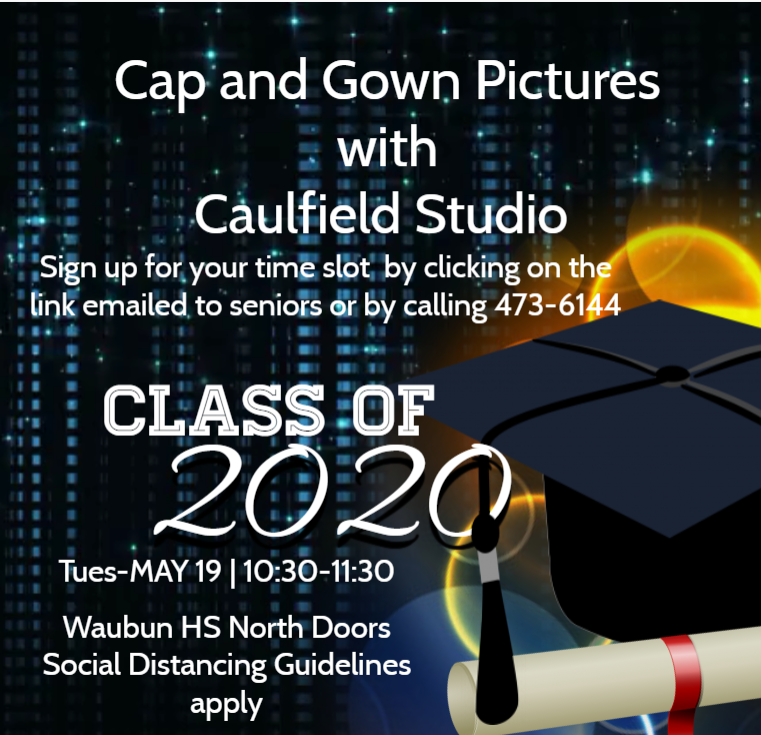 Caulfield cap and gown